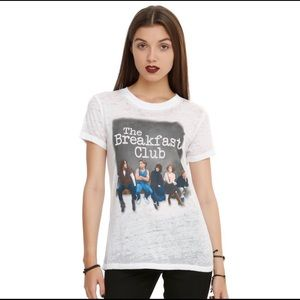 THE BREAKFAST CLUB BURNOUT T-SHIRT